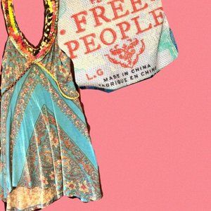 Free People Sleeveless Top Size L